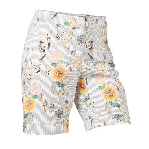 Bermuda élégant Suffisamment élégant pour remplacer une jupe : le bermuda noble au motif imprimé tendance.