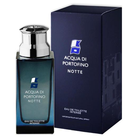 Parfum pour homme Acqua di Portofino « Notte », Eau de Toilette Intense Le parfum masculin « Notte » d'Acqua di Portofino : un succès en Italie, encore difficile à trouver par chez nous.