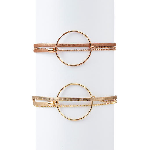 Bracelets superposés avec anneaux Des bracelets superposés tendance si précieux (et en même temps abordables) sont rares. Par FlowersForZoé.