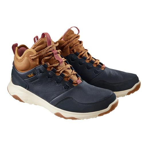 Sneaker en cuir imperméable Teva® Aussi légère et respirante qu'une chaussure de randonnée. Aussi imperméable qu'une botte en caoutchouc.