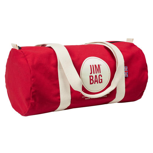 JIM© Barrel Bag JIM© Bag Original : le sac culte de Grande-Bretagne. Canvas anglais grainé, cousu à Manchester.