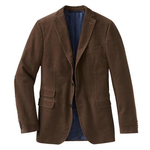 Veston en velours côtelé Pontoglio Plus robuste, plus élégant et aux couleurs plus brillantes : le veston côtelé de Pontoglio.