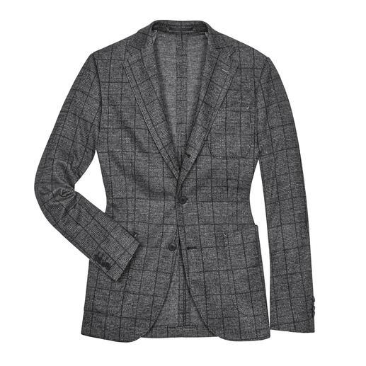 Veston en jersey à carreaux Barutti - Soigné pour les affaires. Mais aussi confortable que votre cardigan préféré. De Barutti.
