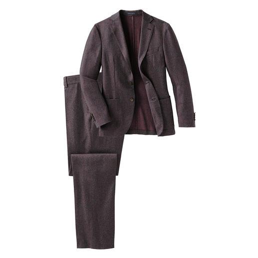 Costume Super-120 lavable Reporter Votre costume probablement le plus facile d'entretien : fait de laine Super 120 et lavable en machine.