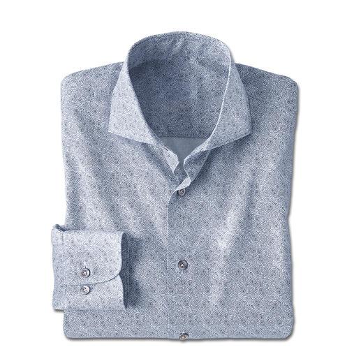 Chemise Paisley Dorani Un classique parmi les motifs à cravate. Très tendance pour les chemises : le motif paisley.