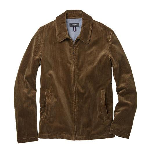 Veste Harrington Gloverall La veste Harrington classique culte : désormais top tendance en velours côtelé. Par Gloverall.