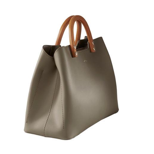Sac à main olive Inyati Concourt pour le prix du Design. Et pourtant toujours  abordable. Le sac à main élégant et puriste de Inyati.
