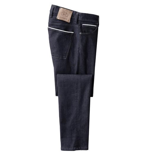 Jeans stretch Alberto pour homme Ils existent : les jeans moulants – aussi confortables que vos pantalons de survêtement. Par Alberto.