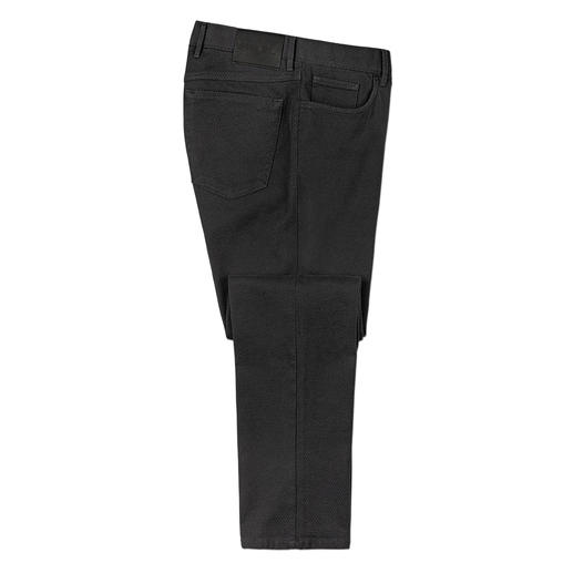 Pantalon structuré Hiltl Aussi confortable que du jersey – mais beaucoup plus ferme et plus stable. Le pantalon slim 5 poches.