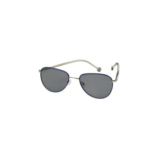 Lunettes de soleil en cuir Monkeyglasses® Doublement tendance : look cuir à la mode. Forme pilote décontractée et élégante. Par Monkeyglasses®.