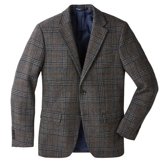 Veston à motif Prince-de- Galles German Tweed® Motif Prince-de-Galles classique, couleurs urbaines, tissu léger, souple et doux.
