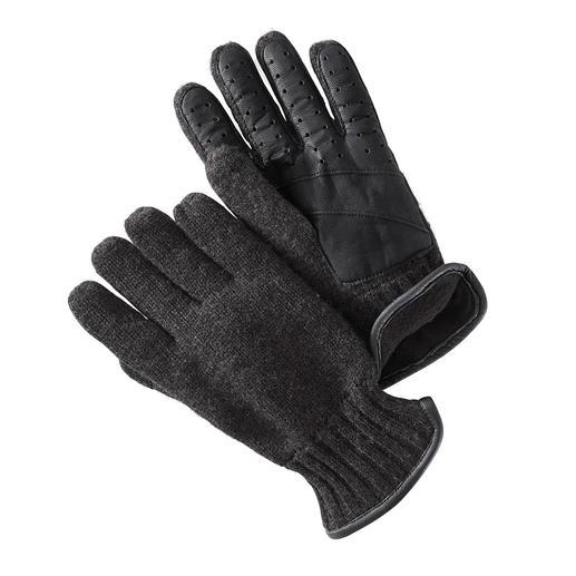 Gants en tricot Nappa Chaud et coupe-vent, élégant et élastique : tout ce dont un bon gant a besoin. Par Otto Kessler.