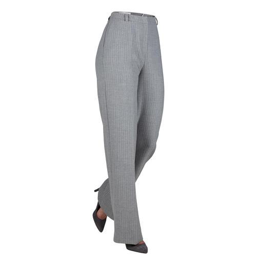 Blazer ou Pantalon tailleur Barbara Schwarzer Aspect laine noble. Coupe façon haute couture. Design moderne. Matériau adapté au quotidien.