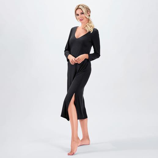 Robe de nuit couture Bleyle Tissu fluide et extrêmement élastique. Longueur maxi tendance. Séduisant décolleté au dos.
