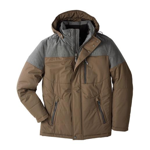 Veste AJK Climate-Control® 9 propriétés fonctionnelles, tout en étant chic. La veste AJK Climate- Control®.