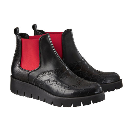 New Chelsea Boots Shoot Relooking extravagant pour la botte Chelsea classique. Fabriqué au Portugal. Par Shoot.