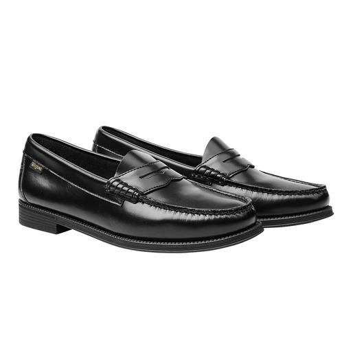Le mocassin original, par l'inventeur du penny loafer. Le mocassin original, par l'inventeur du penny loafer. Les véritables « Weejuns » par G. H. Bass & Co.