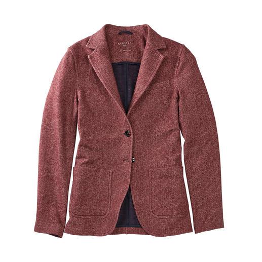 Blazer à motif chevron Circolo 1901 Aussi élégant qu'un blazer et aussi confortable qu'un cardigan. De Circolo 1901.
