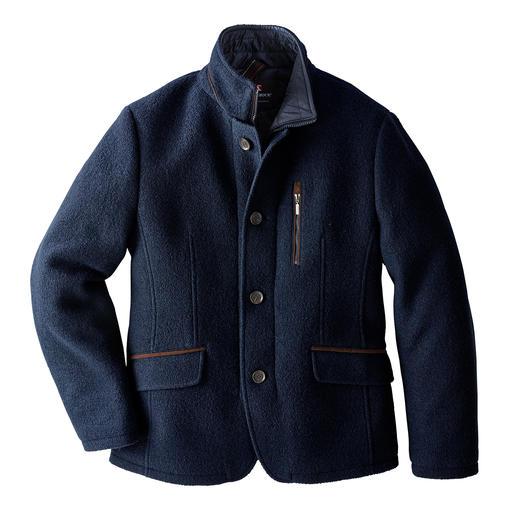 Veston en drap de laine foulée Steinbock® Le veston Steinbock®/Autriche, spécialiste des vêtements outdoor depuis plus de 80 ans.