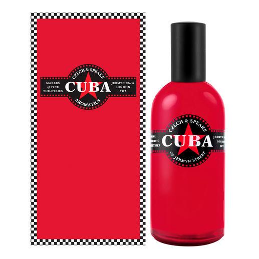 Eau de Cologne Czech & Speake Cuba, 100 ml Cuba en bouteille : un parfum rare avec une touche caribéenne. Pour homme et femme.