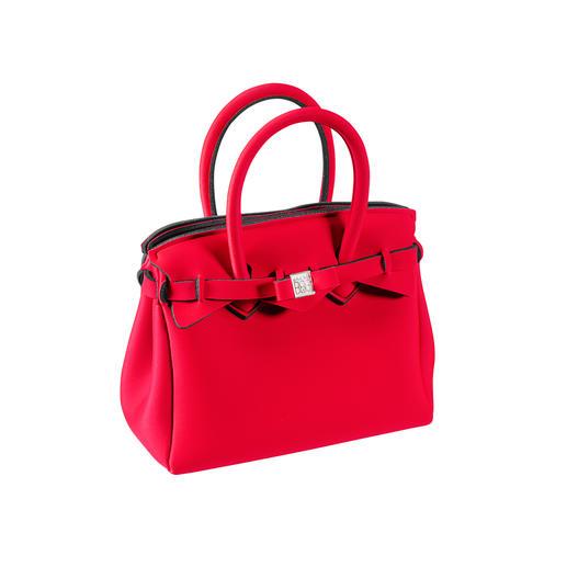 Mini sac ultraléger Look classique, matériau innovant : ce sac à main ultra léger ne pèse que 215 grammes. Par Save My Bag.