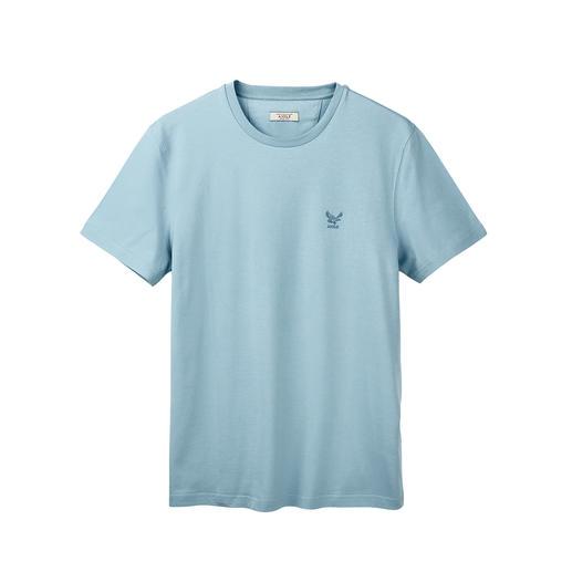 Shirt fonctionnel en coton Aigle Dry-fast®. CONTROL® UV. Et pourtant, en coton 100 % doux et agréable pour la peau. De Aigle.