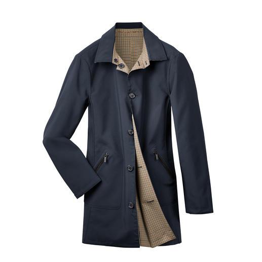 Manteau réversible Karl Lagerfeld Le manteau réversible de designer, pratique et tendance, de Karl Lagerfeld.