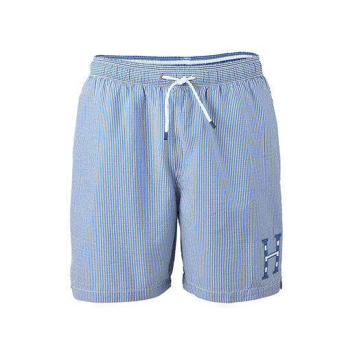 Short de bain en seer­sucker Hackett London Partout dans son élément : l'élégant short de bain en seersucker de Hackett London.