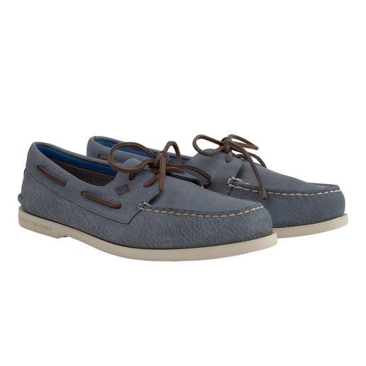 Chaussures bateau en cuir lavable Sperry Toujours antidérapante. Plus légère que jamais. Et désormais même lavable.