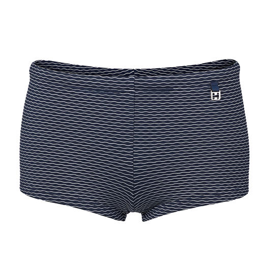 Short de bain jacquard HOM Plus mate, plus noble, et plus durable que la plupart. Short de bain tissé jacquard de HOM, France.