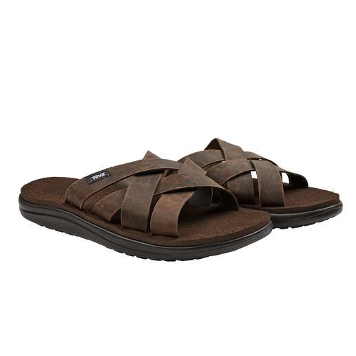 Sandale en cuir étanche Teva® Assez robuste pour la plage et la piscine. La sandale hydrofuge, résistante à l'eau de mer de Teva®.