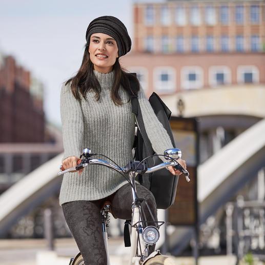 Pull en alpaga Kero Airjet Un tricot brut et rugueux aura rarement été aussi léger. Le pull en alpaga fait de fil « Airjet ».