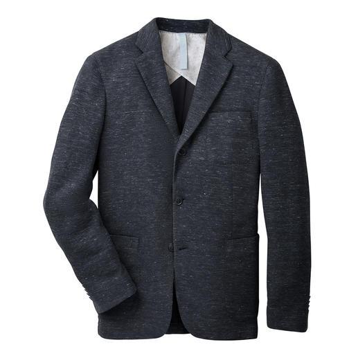 Veste en lin et jersey Barutti Confortable et élastique. Agréablement aérée. Et pourtant indéniablement élégante. De Barutti.
