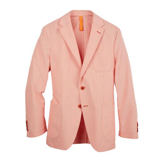 Veston Oxford Barutti Aussi correct qu'une veste. Aussi léger qu'une chemise. Tissu Oxford aéré sans doublure. De Barutti.