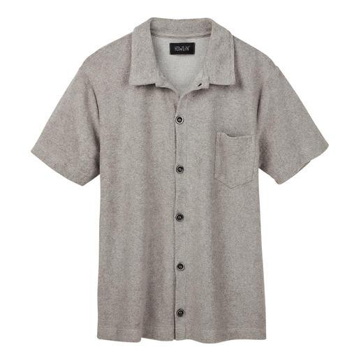 Chemise en éponge à manches courtes Howlin' - Un confort qui relève du miracle : la chemise en éponge veloutée. Respirante et absorbant l'humidité.