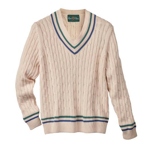 Pull de cricket Alan Paine, pour homme Alan Paine a inventé, et réinventé, le légendaire pull de cricket.