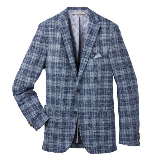 Veste en jersey bouclé Carl Gross L'aspect typique du bouclé, favori de la mode. Mais à la légèreté et au confort actualisés.