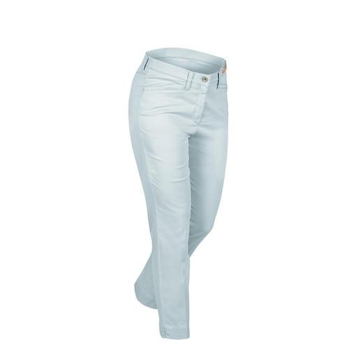 Pantalon ceinture magique RAPHAELA- BY-BRAX, Bleu Votre pantalon grand confort : le pantalon avec ceinture magique de RAPHAELA-BY-BRAX.