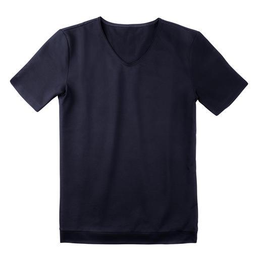 Pantalon, Short ou Haut de pyjama en piqué Aussi aéré qu'un polo. Aussi présentable qu'un ensemble détente.
