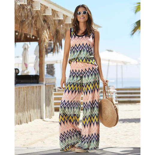 Maillot de bain, Top ou Pantalon zigzag M Missoni Mode de bain luxueuse. Forme et couleur tendance. Et incontestablement de M Missoni.