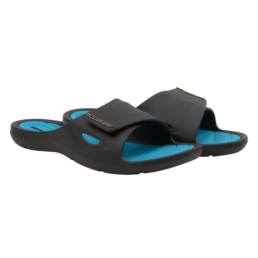 Sandales de bain Aquafeel Fashy pour femme Antidérapantes sur les surfaces humides. Antibactériennes contre la mycose du pied.