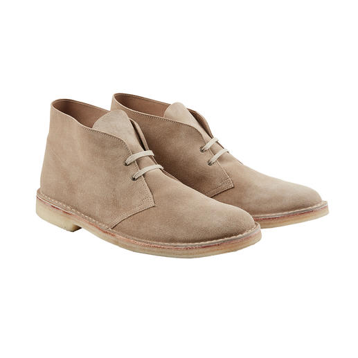 Chukka Boot NPS Un classique de la mode depuis l'empire britannique. Et toujours fabriqué en Angleterre. La Chukka Boot de NPS.