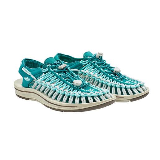Sandales Outdoor Uneek™ KEEN®, femme 2 lacets + 1 semelle = la sandale outdoor la plus innovante du marché. Par KEEN®, USA.