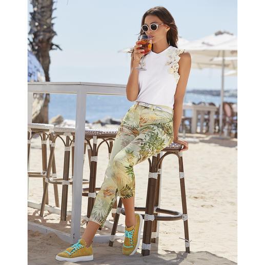 Pantalon ceinture magique RAPHAELA-BY-BRAX, palmier Votre pantalon grand confort : le pantalon avec ceinture magique de RAPHAELA-BY-BRAX.