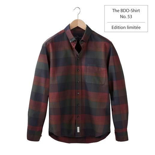 The BDO Shirt, Limited Edition No.53 Redécouvrez une bonne vieille amie. Et oubliez qu'une chemise doit être repassée.