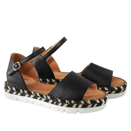 Sandales espadrilles Macarena® Des sandales-espadrilles top tendance, fabriquées par le spécialiste avec 40 ans de savoir-faire. De Macarena®.