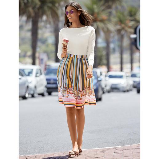 Jupe « bonne humeur » Fashion Classics La jupe « bonne humeur » avec tous les attributs tendance de l'été 2019.