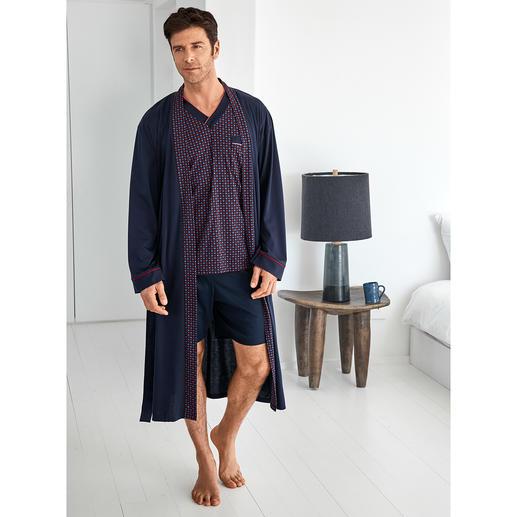 Pyjama préféré No. 28 ou Peignoir préféré Votre pyjama préféré. Pur coton, travaillé avec soin, made in Germany.