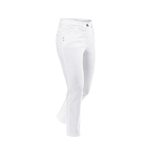 Pantalon d'été Magic longueur 7/8 Le pantalon en coton sculpte votre silhouette comme une gaine. Tout en restant très agréable à porter.