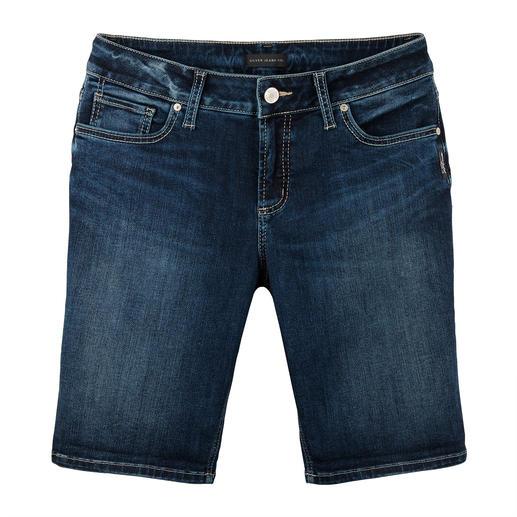 Short en jean Skinny de Silver Le jean Silver original. Une forme parfaite, un style unique. Désormais également comme short en jean.